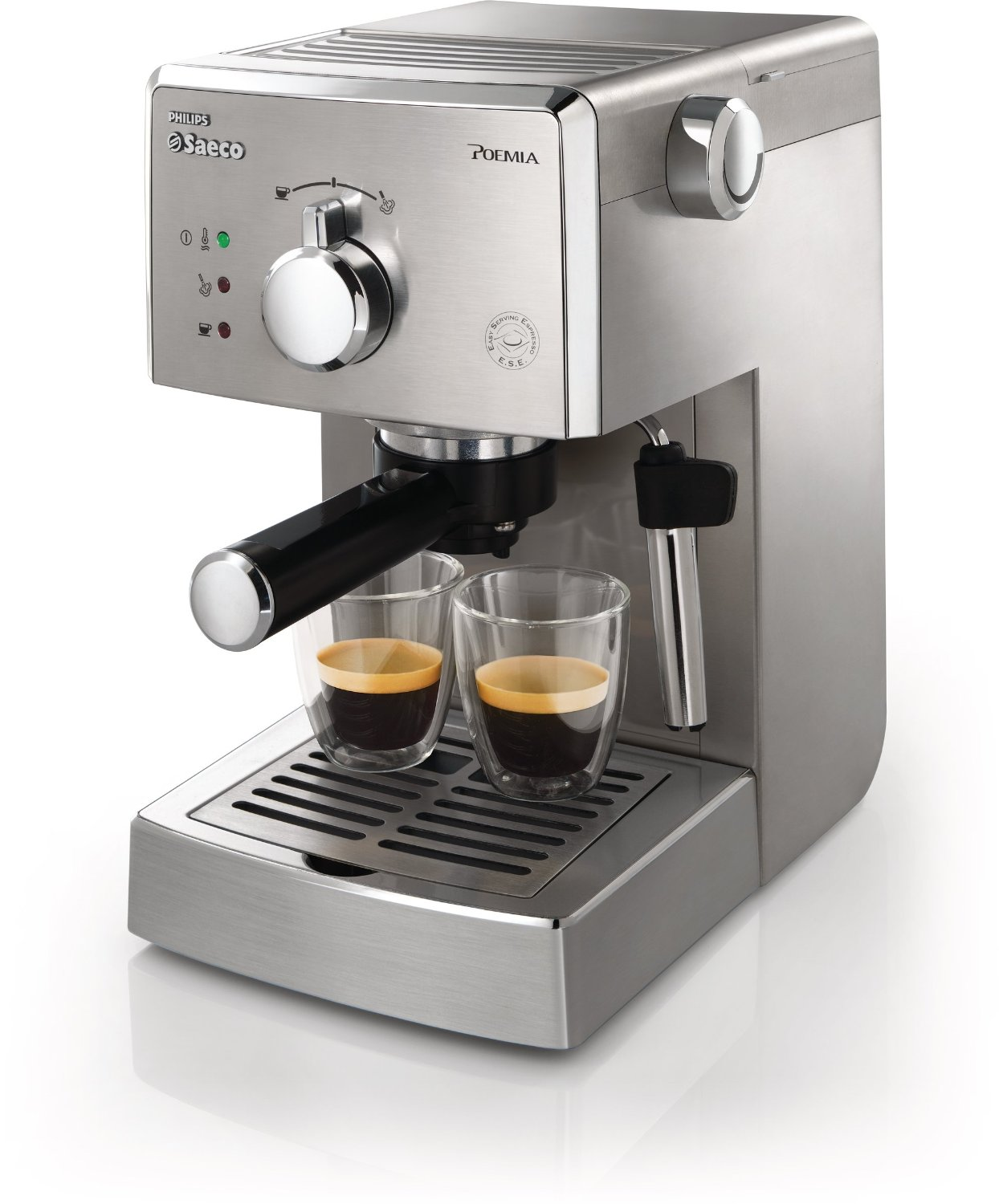 coffee machine reviews -Saeco HD8327/47 Poemia top Espresso Machine