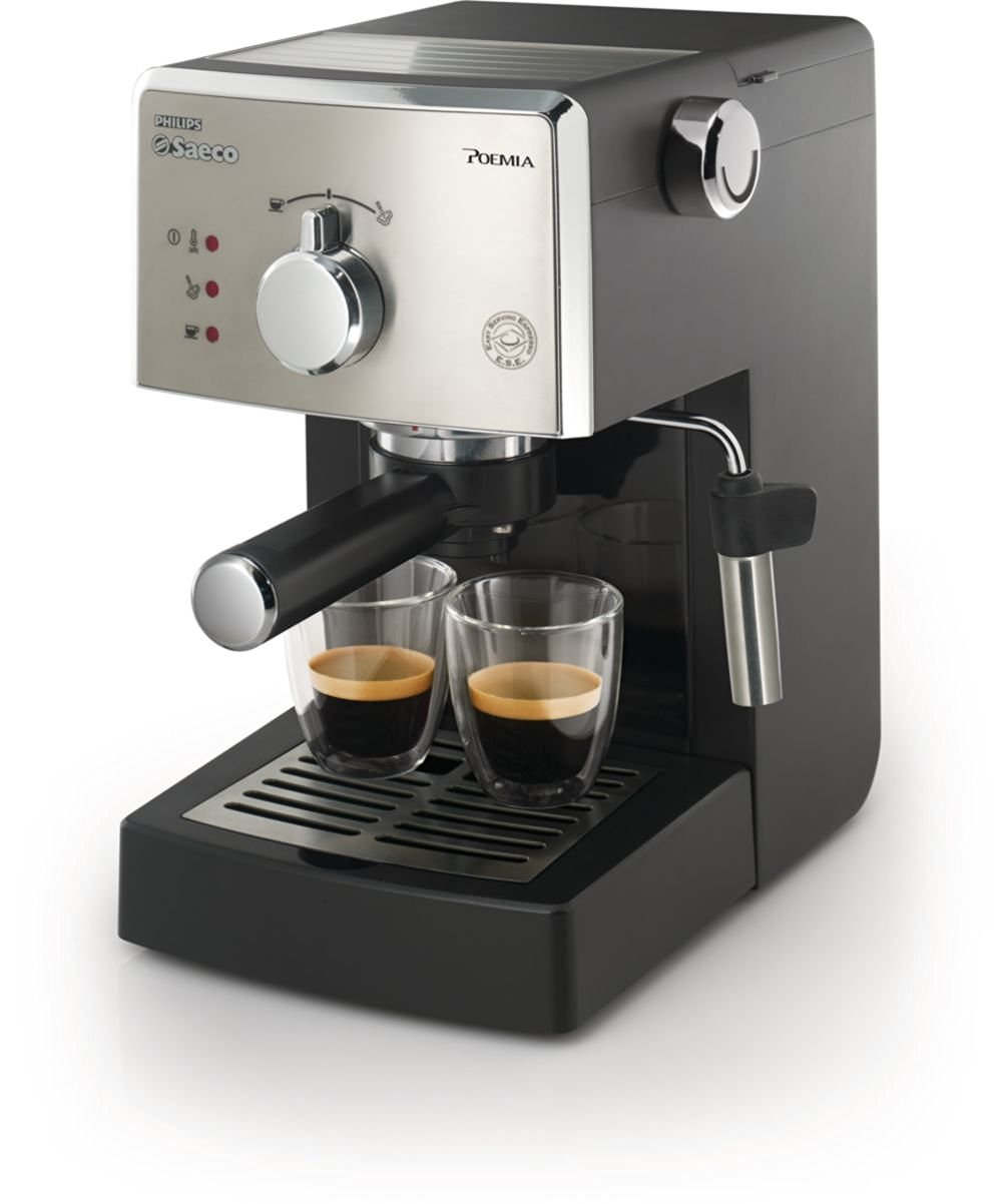 Saeco HD8325/47 Poemia Class Manual Espresso Machine